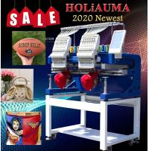 China HO1502H 2 head home use China embroidery machine computer sewing embroidery machine on sale