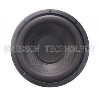 Quality 600W 10 Inch Car Audio Subwoofer Speakers Dual Voice Coil with carbon fiber for sale