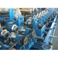 Quality Customized CZ Purlin Roll Forming Machine , Electric Fully Automatic C Purlin Machine for sale