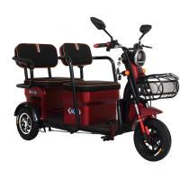 Quality 800W/1000W/1200W electric motor red color 3 wheel electric scooter for adults for sale