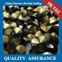 Quality Super Shiny Rhinestone Strass in Bulk, Cheap Strass Crystal, Crystal Strass For Clothes for sale