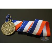 Round Custom Design UIL Metal Award Medals Blank Medallion With 3D