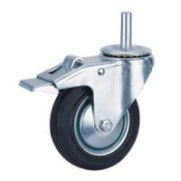Quality Rubber trolley caster wheels for sale