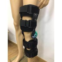 Quality KN -07 Telescope Orthotic Knee Brace Black Color Post Op OEM ODM Service for sale