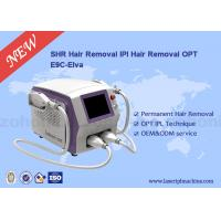 Quality Painless E Light Professional Hair Removal Machine 8.4 Inch Touch Screen for sale
