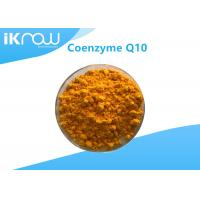 China Supplement USP Grade Coenzyme Q10/COQ10 99.9% Cas 303 98 0 Orange crystalline powder on sale