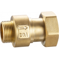Buy cheap Spring Type Water Meter Valve DN15 DN20 DN25 With G type threads from wholesalers