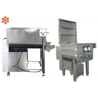 Buy cheap 32 Kg / Time Capacity Commercial Meat Mixer Grinder 70L Barrel Volume from wholesalers