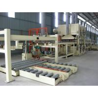Quality Full Automatic MDF Production Line PLC Control Panel Thickness 6 - 40 MM for sale