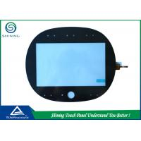 ITO Glass 7 Capacitive Touch Panel Overlay Industrial High Sensitivity