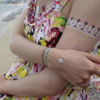 Buy cheap Metallic foil temporary tattoo from wholesalers