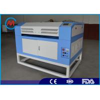 Quality Wood Craft Small CNC Laser Engraving Cutting Machine With Stepper Driver for sale