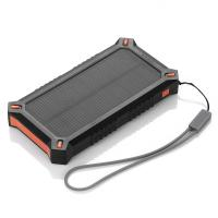Quality Trip Handheld Mobile Phone / MP3 / MP4 Solar Panel Power Bank 8000mAh for sale