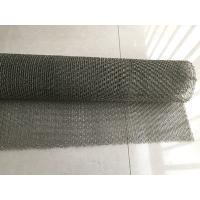 China Flattened / Ginning Compressed Knitted Wire Mesh 50M Length Ss304 304L 316 316L on sale