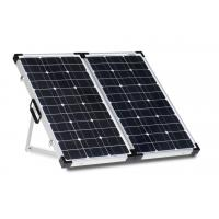 Buy cheap White Sheet 80 Watt Solar Panel Lock And Handle Anodized Aluminum Alloy Frame from wholesalers