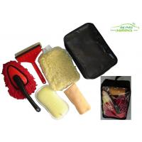 China portable 6 Pieces car washing brush kit with Window Eraser / Dust Brush on sale