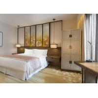 Solid Wood Modern Luxury Hotel Furniture Rustic Style For Guest Room