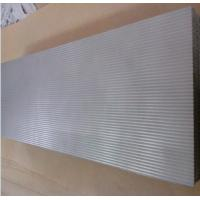 Quality Corrugated sheet metal powder is sintered, porous corrugated filter plates for sale
