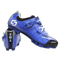Quality Anti Slip Blue Mountain Bike Shoes Complete Size Choice With Unmatched Durability for sale