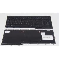 Quality Notebook keyboard For Fujitsu Lifebook AH552 Black With Frame US Laptop Keyboard for sale