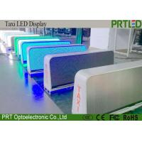 Quality Full Color P5 Taxi Top LED Display , Car Roof Taxi Top LED Sign Board for sale