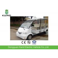 China 4kW DC Motor Electric Shuttle Bus With Superior Cushioning Capacity for 8 Person on sale