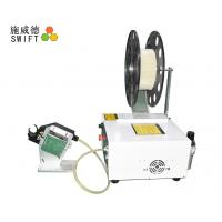 Quality PLC Control Cable Tie Tensioning Tools , Automatic Zip Tie Machine Small Volume for sale