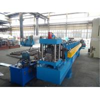 China Cold Roll C Purlin Forming Machine for upright structure with 2 holes on sale