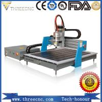 China Small wood atc water cooled spindle mini pcb drilling machine advertising cnc router TMG6090-THREECNC on sale