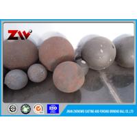Buy cheap HRC 55-65 High Hardness Casting Grinding Balls For Mining HS 732611 from wholesalers