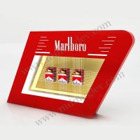 Quality Transparent Led Acrylic Cigarette Display Light Box For Advertisement for sale
