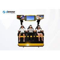 Quality 3 Seats 9D VR Cinema Simulator Dynamic Desk With Deepoon E3 Glasses for sale