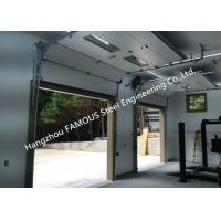 China Fast Action Lifting Doors With Slide Running Design Up Rising Commercial Track Doors on sale