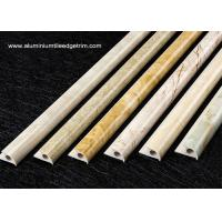 China Composite Marble Round Edge Tile Trim For Wall Or External Corner on sale