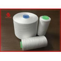 Quality Less Broken Ends Polyester Spun Yarn for Sewing Threads , 100% Polyester Yarn for sale