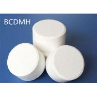 China Light Odor White BCDMH Water Purification Tablets / Powder For Swimming Pool Disinfection on sale