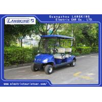 Quality Mini 4 Wheel 4 Person Electric Club Car Golf Carts With 48V Battery Powered for sale