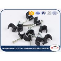 Quality Cable Clip High Quality Square Nail Cable Clips Plastic PP Material for sale