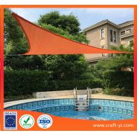 China Triangle, square Patio Shade Sails Sun Shade Sail Garden Patio Sunscreen on sale