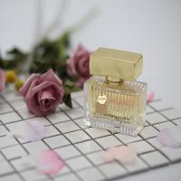 Quality Luxury Carved Glass Bottles Home Fragrance Spray With Customized Color for sale