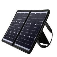 Quality Laptop solar powered usb charger , 50W Solar Panel Mobile Charger 18 Volt for sale