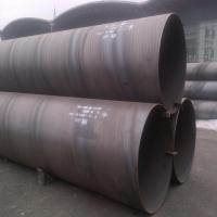 Quality Spiral Welded Carbon Steel SAW Steel Pipe ASTM A53 Grade B Plain Ends 26'' Sch30 for sale