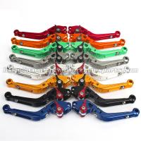 Folding Extendable Motorcycle Brake Clutch Lever For Street Racing Bike