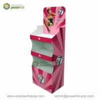 China Promotional Cardboard Convenience Store Display Racks on sale