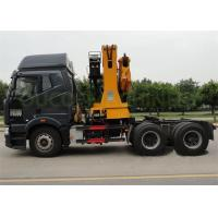 Quality Workshop Telescopic Boom Truck Mounted Crane Equipment Running Smoothly for sale
