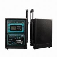 Quality Wireless PA Amplifier with USB, SD, FM, Wireless MIC, Battery for sale