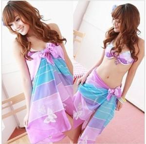 Quality Silk Pareos Sarongs, Printed Pareos and Beach Pareos (FG-S038TT) for sale
