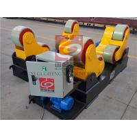 Quality Self Aligning Welding Rotator 40T Self Centering Roller Beds for sale