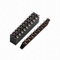 Quality Female Headers, 2.54mm Pitch, Dual-row/Single Row, SMT Type for sale