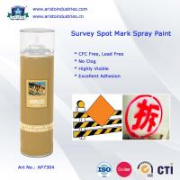 Quality High Visibility Marking Spray Paint No Clog Survey Spot Aerosol Survey Marking Paint 500ml for sale